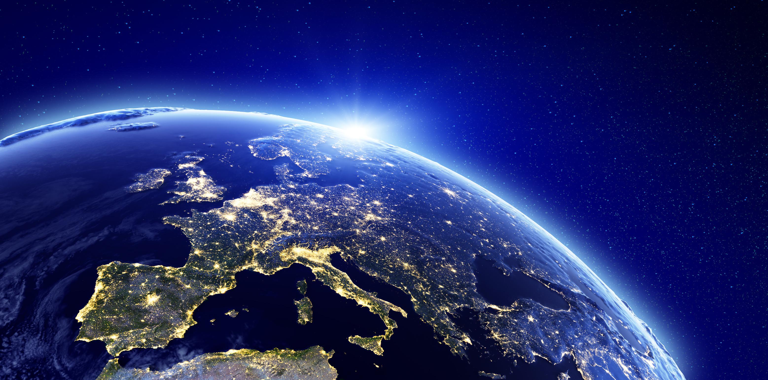 L'Europe un marché de 550 millions de consommateurs.